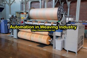 automation in weaving process