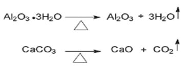 endothermic decomposition reactions