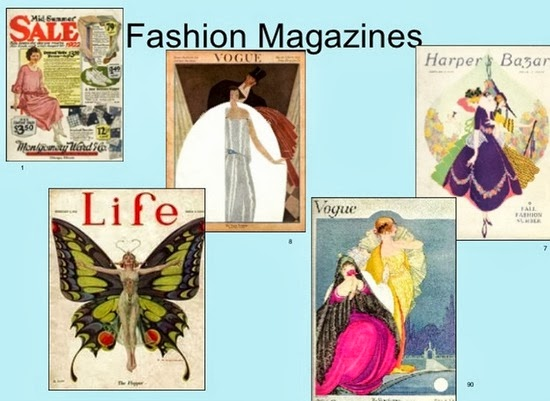 1910-1920s Fashion magazines