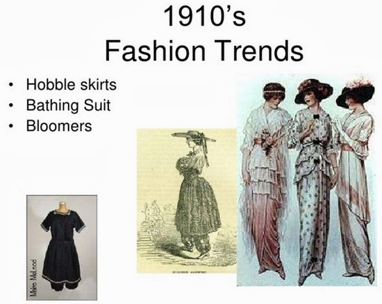 Fashion trends 1910