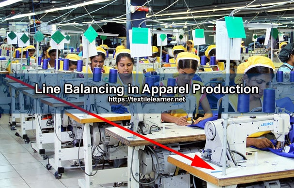 Line Balancing in Apparel Production