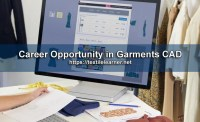 Career Opportunity in Garments CAD in Bangladesh