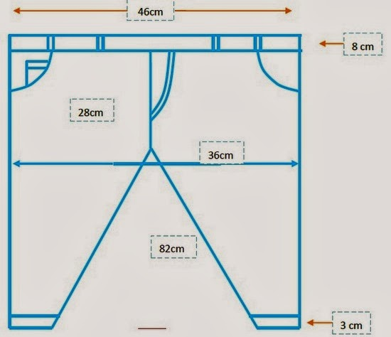 Basic pant structure
