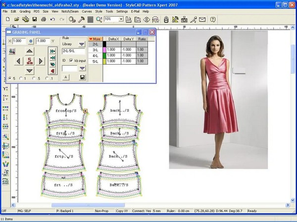 Pattern Making by Autocad