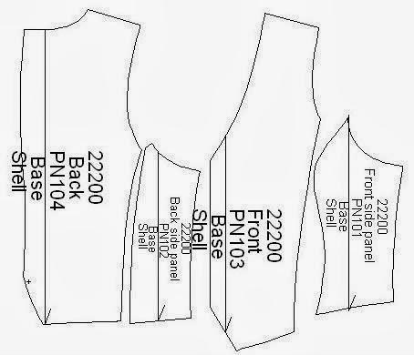 Garment Production Pattern