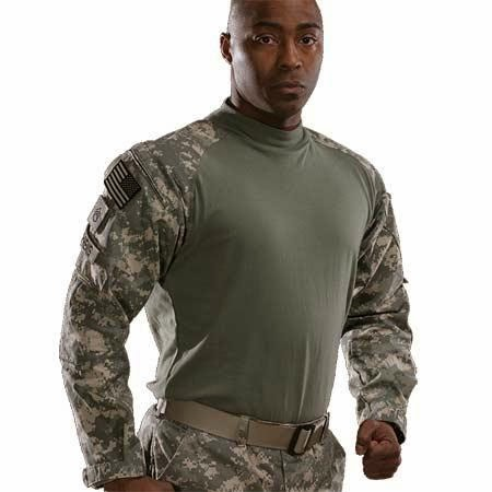Army soldier wearing the Army Combat Shirt