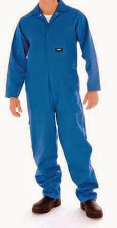 Blue colored Industrial Work Wear