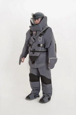 Bomb Suit used in Urban Warfare