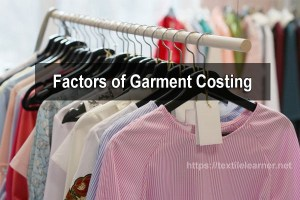 cost analysis of garments