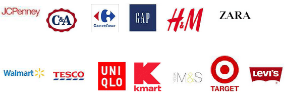 Brands of clothing importing RMG from Bangladesh