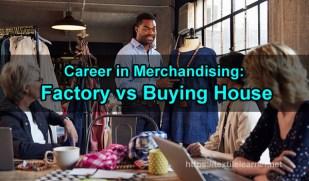 merchandising in buying house
