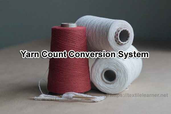yarn count conversion system