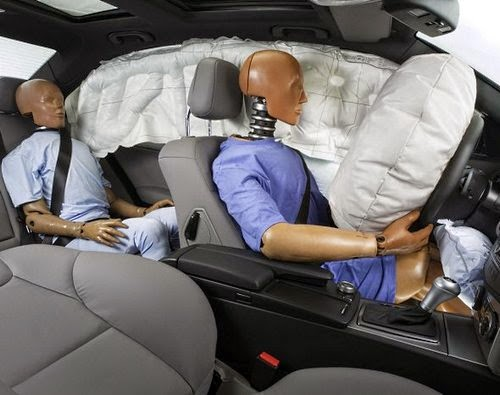 airbags in car