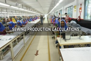 Sewing Production Calculations
