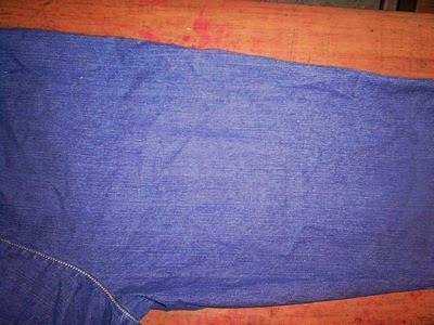 Denim fabric sample