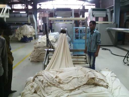 Fabric Turning Machine