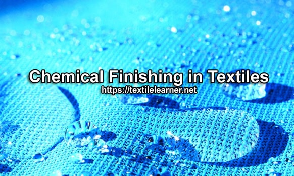 chemical finishing in textiles