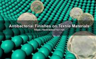 Antibacterial Finishes on Textile Materials