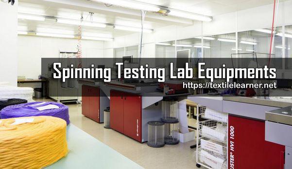 Spinning Testing Lab Equipments