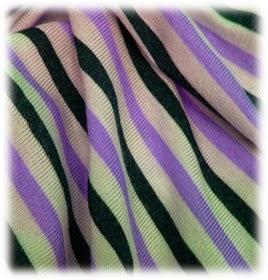 Structure of Viscose Tripe Knit Fabric