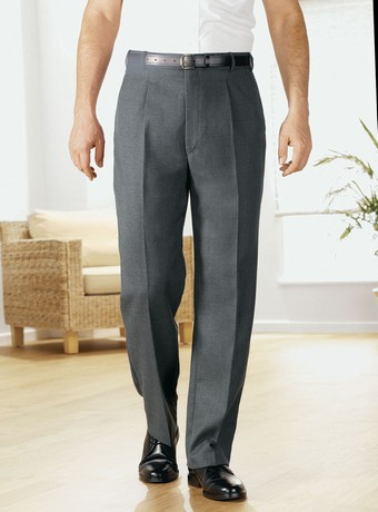 Single Pleated Trousers