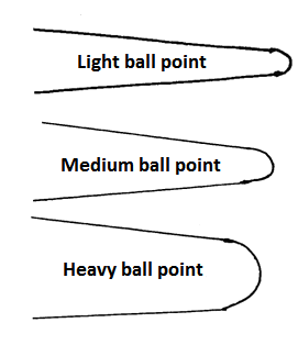 needle ball point