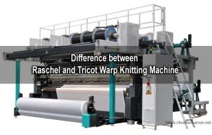 Raschel and tricot Warp Knitting Machine