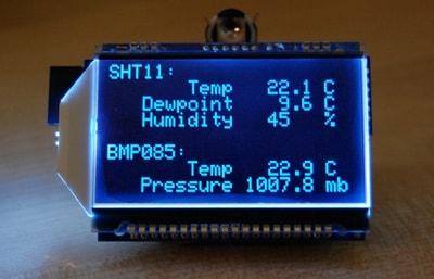 Humidity and Temperature monitoring