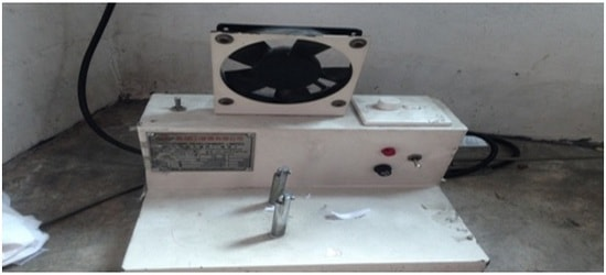 Heat wear label cutting machine