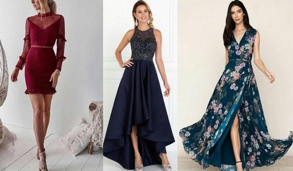 Types of fashion dresses