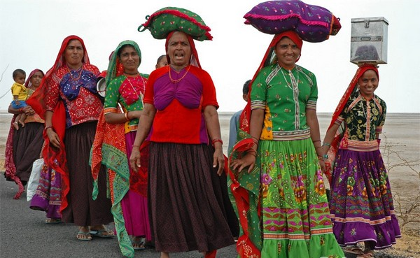 Traditional clothing of Kutch