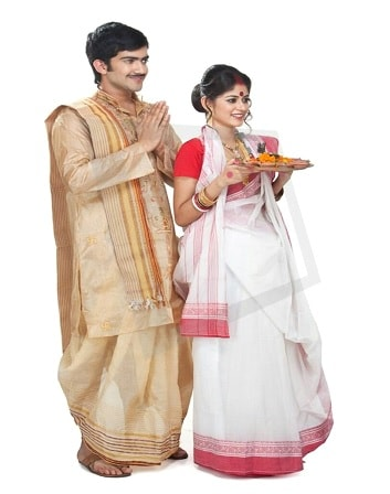 Traditional clothing of West Bengal
