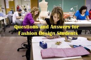 Fashion Design Questions