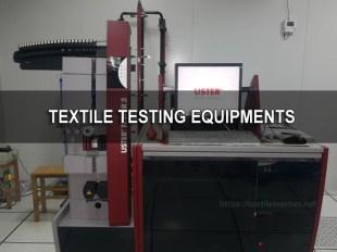 textile testing equipments