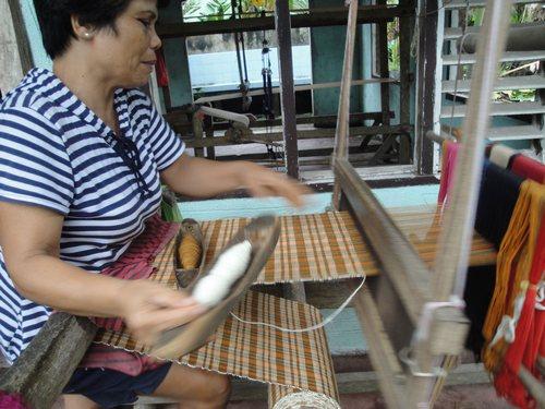 Corn weaving