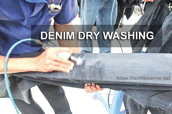 denim dry washing