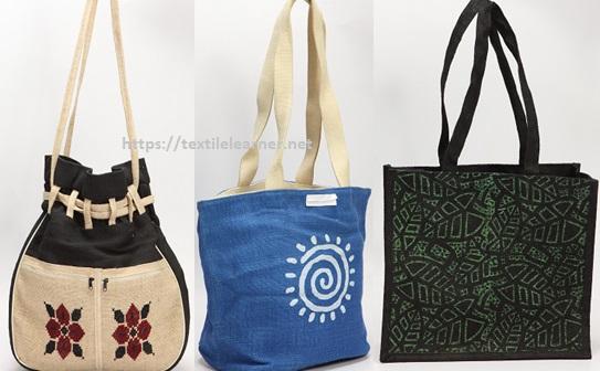 Jute modern bags
