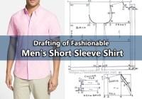 Drafting of Fashionable Men's Short Sleeve Shirt
