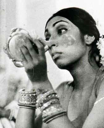 wearing kajal