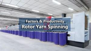 productivity in rotor yarn spinning