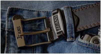 Belt used with Jeans bottom