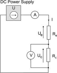 Equivalent resistance scheme