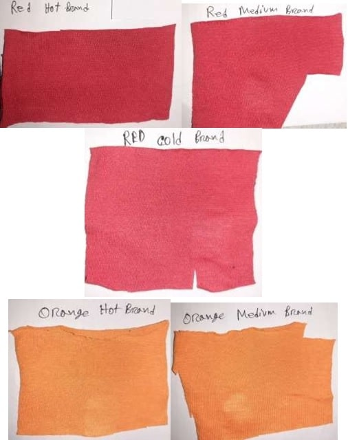Reactive Dyed Fabric