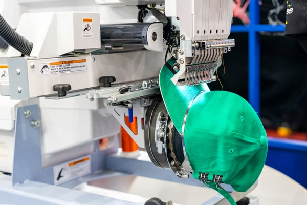 automation in embroidery machine