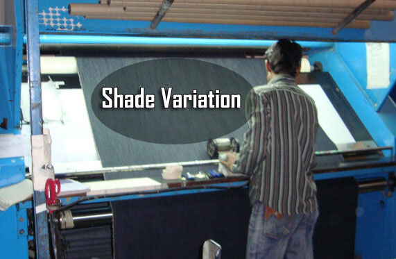 fabric shade variation