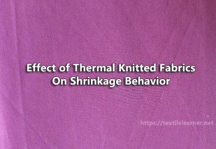 thermal knitted fabric
