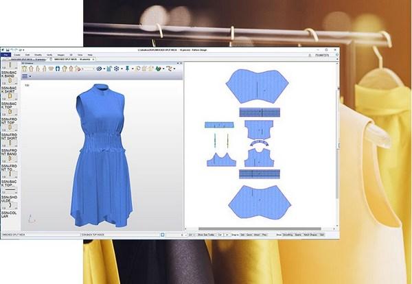 Designed by AccuMark Pattern Design Software
