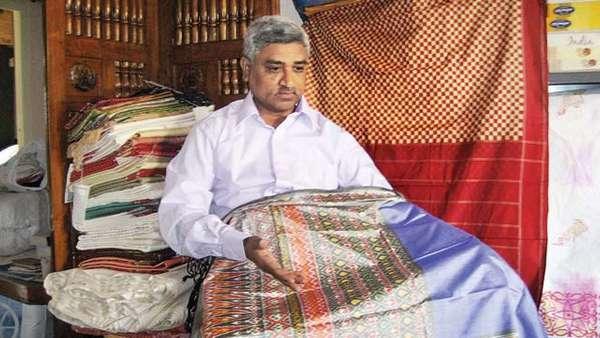 The man behind Ahimsa silk saree
