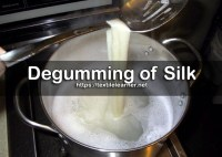 Different Methods of Degumming of Silk