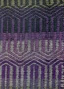 Weft-faced twill rug